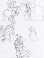 finnick and annie by burdge