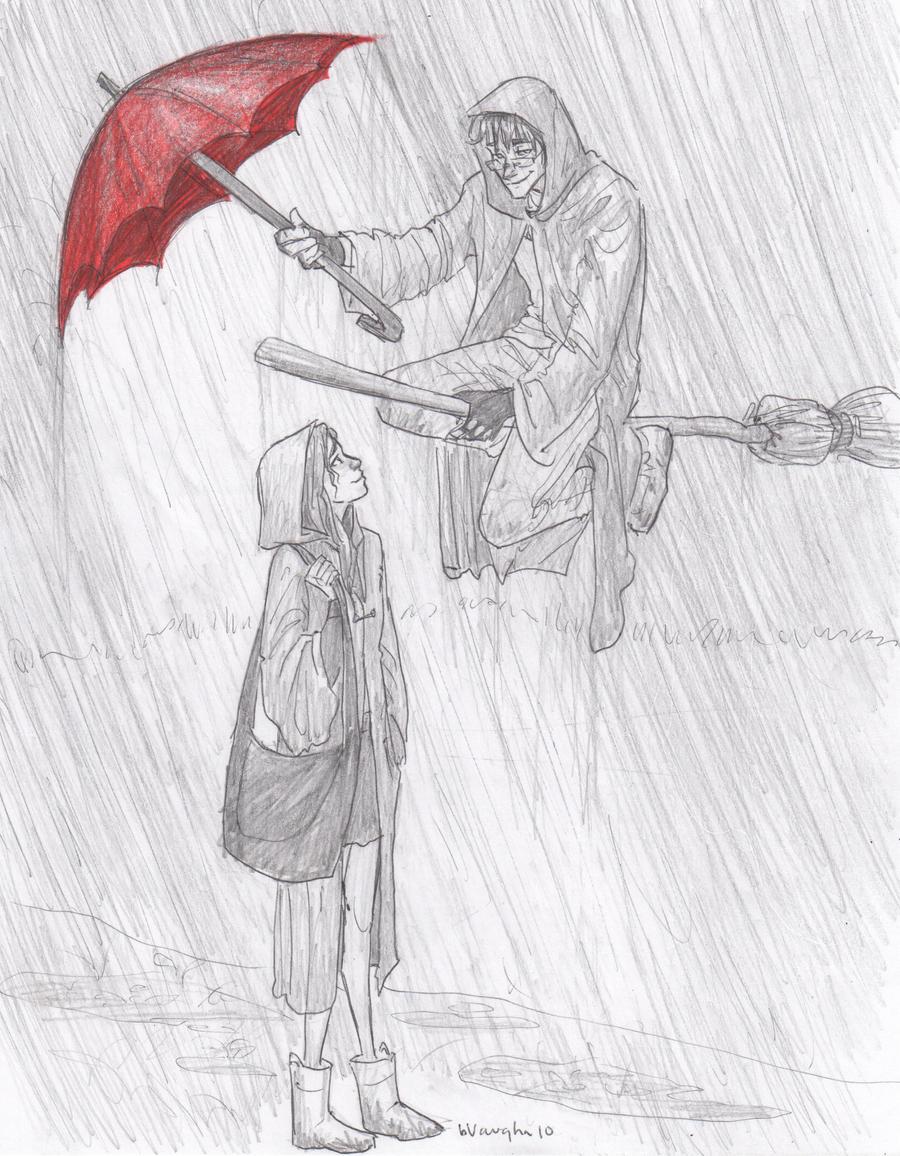 rainy monday by burdge