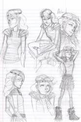 Astrid sketchies by burdge