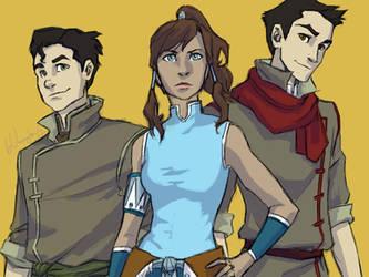 Avatar Trio by burdge