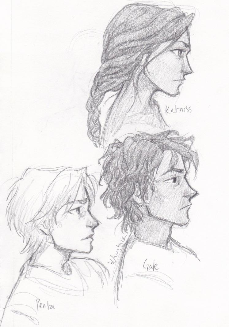 Hunger Games Peeta Drawing faces by burdge on Dev...