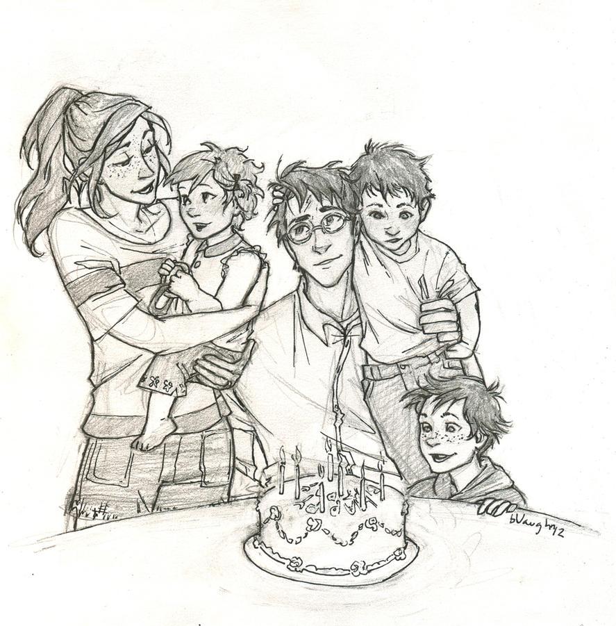 Happy Birthday, Harry by burdge