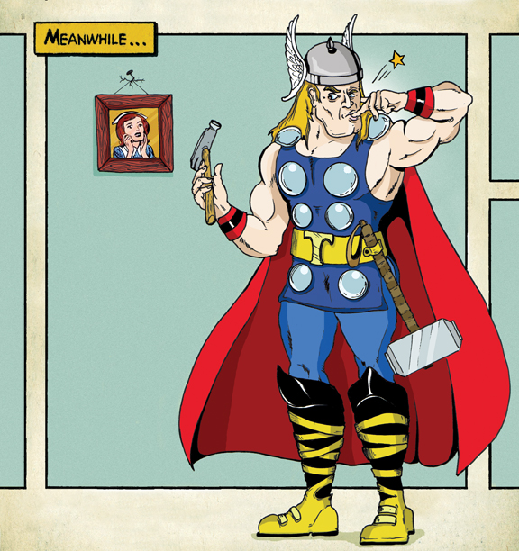 Meanwhile ... THOR by 8ball-coat