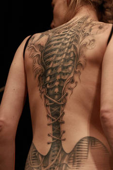 corset tattoo 2