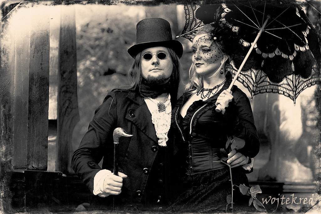 Victorian couple 02 by psychodelic-candy