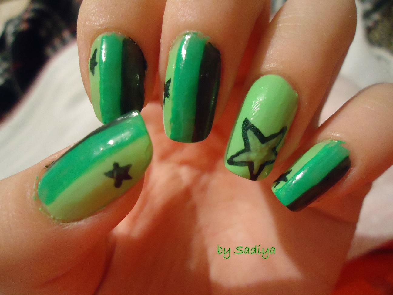 stars nails by Sadiya by SAYANEcw on DeviantArt