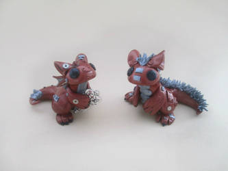 Steampunk Dragons by KriannaCrafts