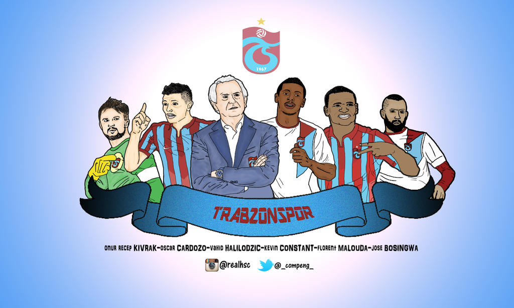 Trabzonspor All Stars In 2014-2015 By Compeng On DeviantArt