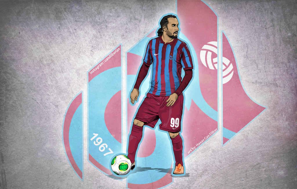 Erkan Zengin Trabzonspor Vector By Compeng On DeviantArt