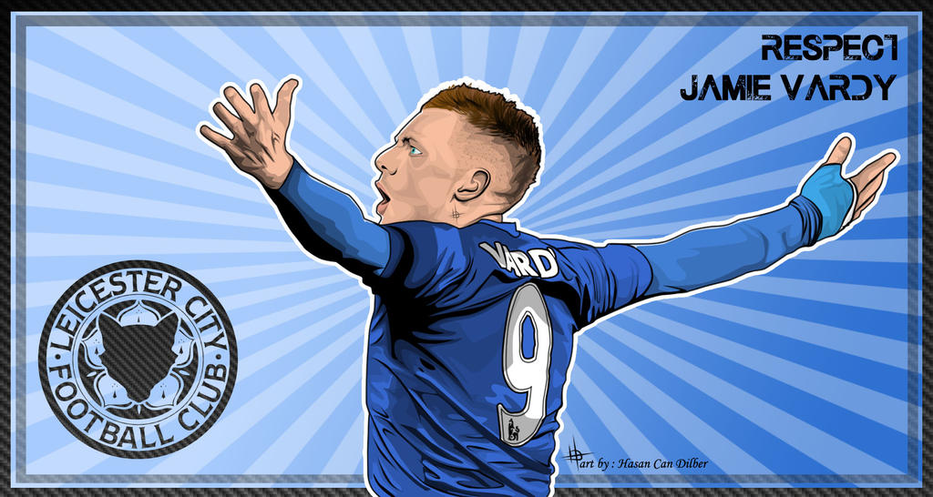 Jamie Vardy Wallpaper By Compeng On DeviantArt