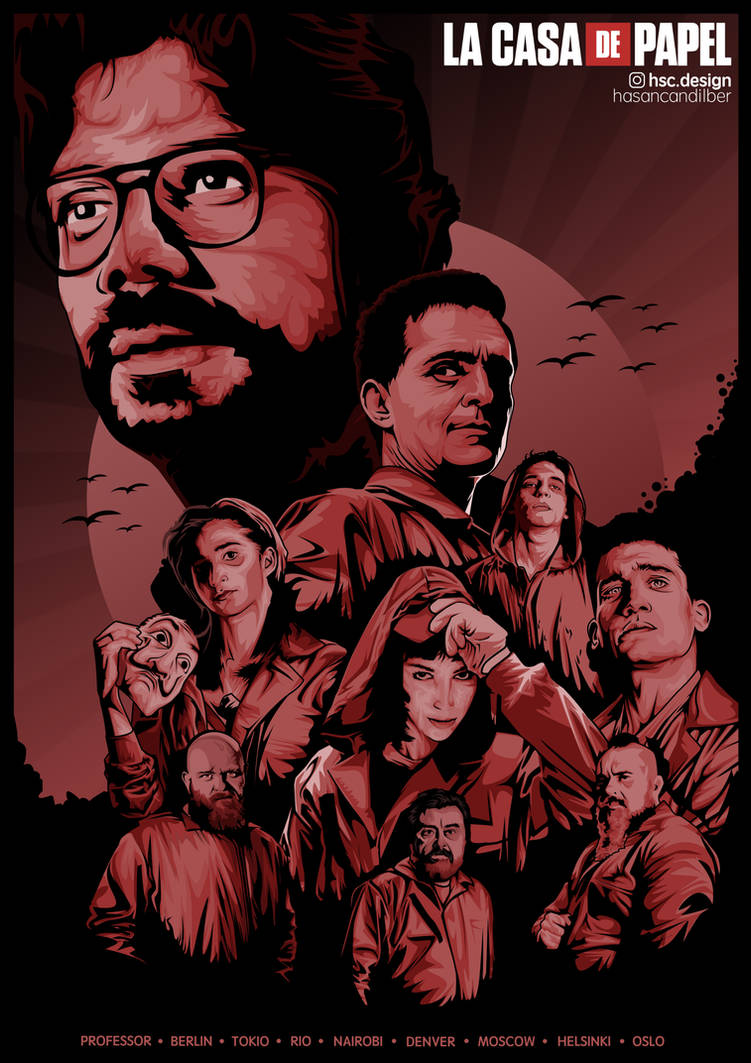 Money Heist Wallpaper Professor And Berlin
