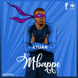 Kylian Mbappe WorldCup #France by compeng
