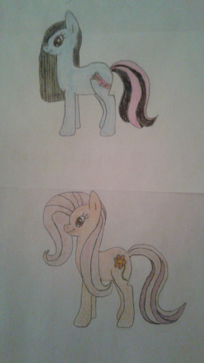 Pony Friends by JinafireDragonEXE