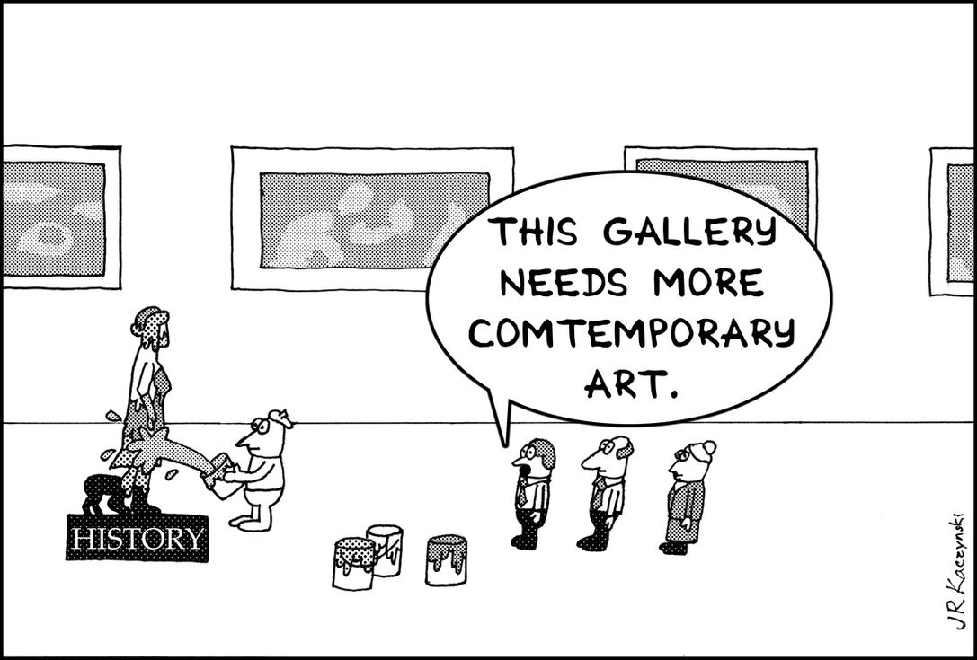 Political cartoon No. 1 by AchisutoShinzo