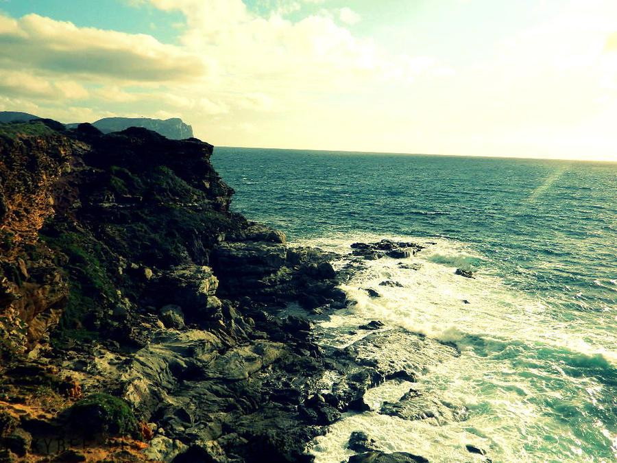 Cliffs by KikyBee