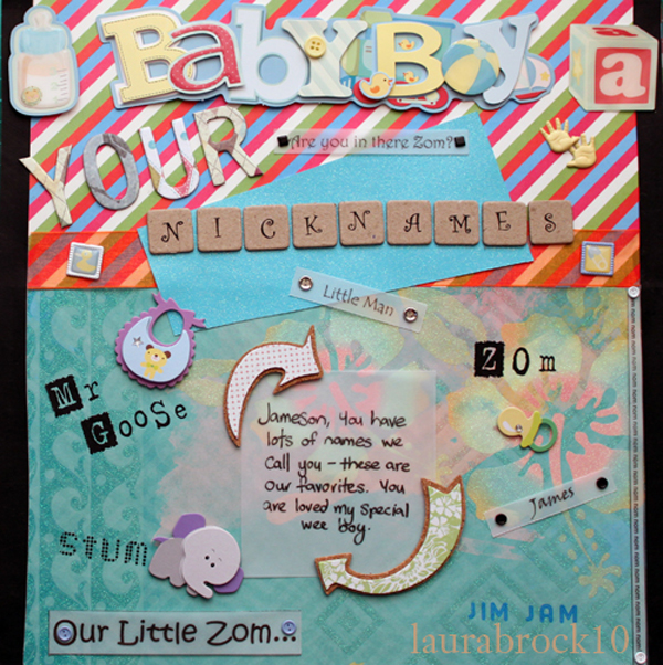 Jameson's Scrapbook 16 by Glitternut