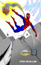 Fcbd 2014 Spiderman Print Not Full Size by Peter-Sefcik