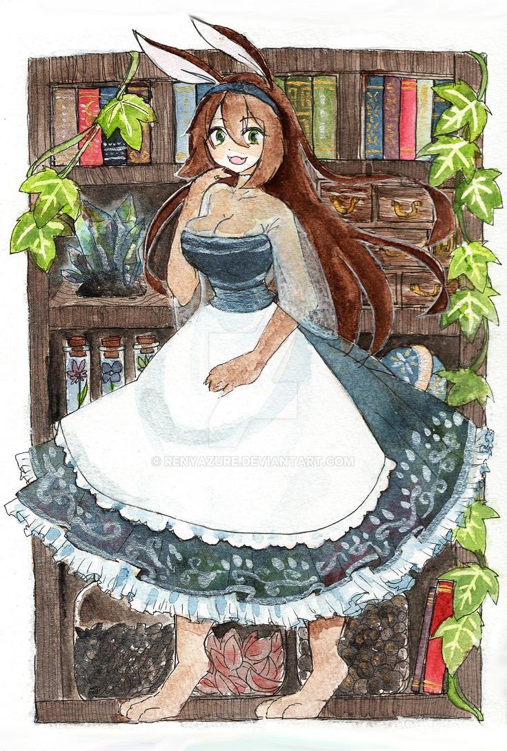 Maid of reservoir by renyazure