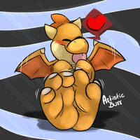 (C) Are'nt I a cute draggy ? ~ by drawydoodles
