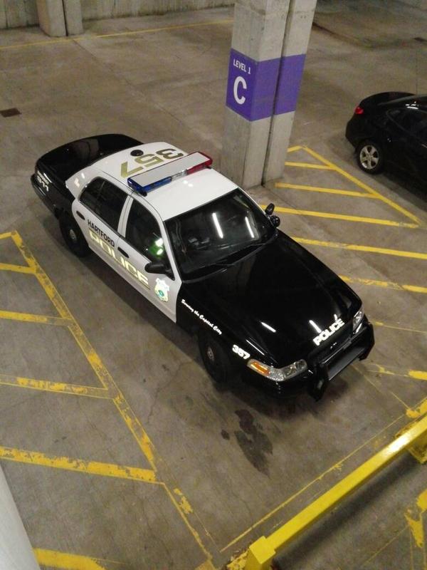Hartford Police Cruiser by AVpuppy