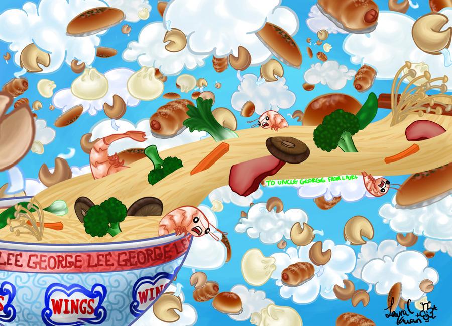 SHABAM: FOOD EQUALS LOVE by fluffyfuzzball