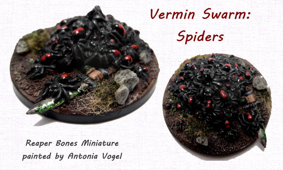 Spider swarm (Reaper Bones)