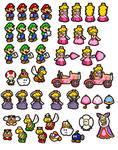 Paper Mario Sprites