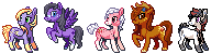 OC pony batch 2 by bananamantis
