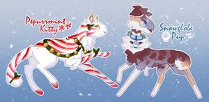 [MOD AUCTION] Christmas Furriends