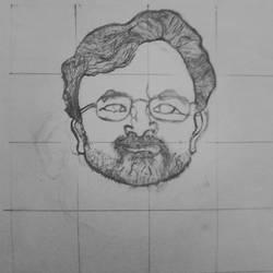 portrait progress by nitinrajput90