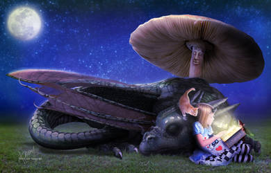 Butterflies and Dragon and Fairy Tales by Cold-Tommy-Gin