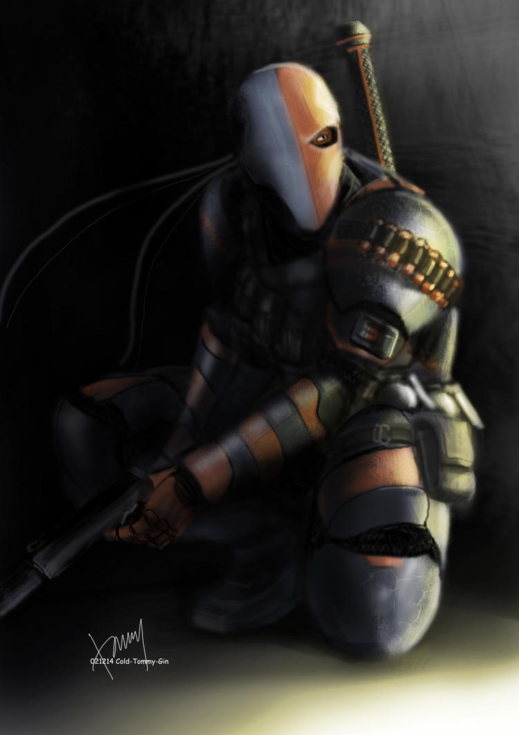 Deathstroke by Cold-Tommy-Gin