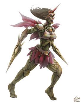 Chara: Dryad warrior color