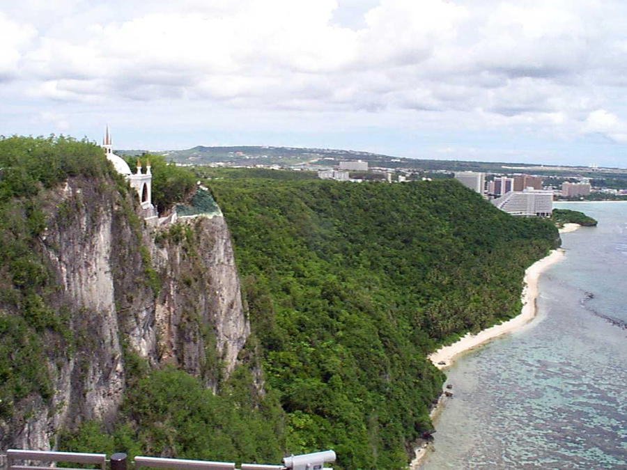 Lovers Leap, Guam by EnderTrouble