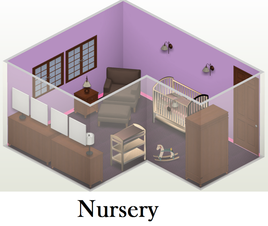 Future House: Nursery by EnderTrouble