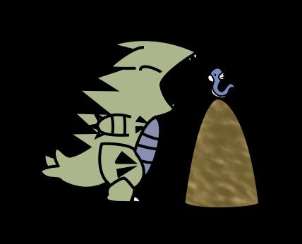 tyranitar and dratini by amuletcoin