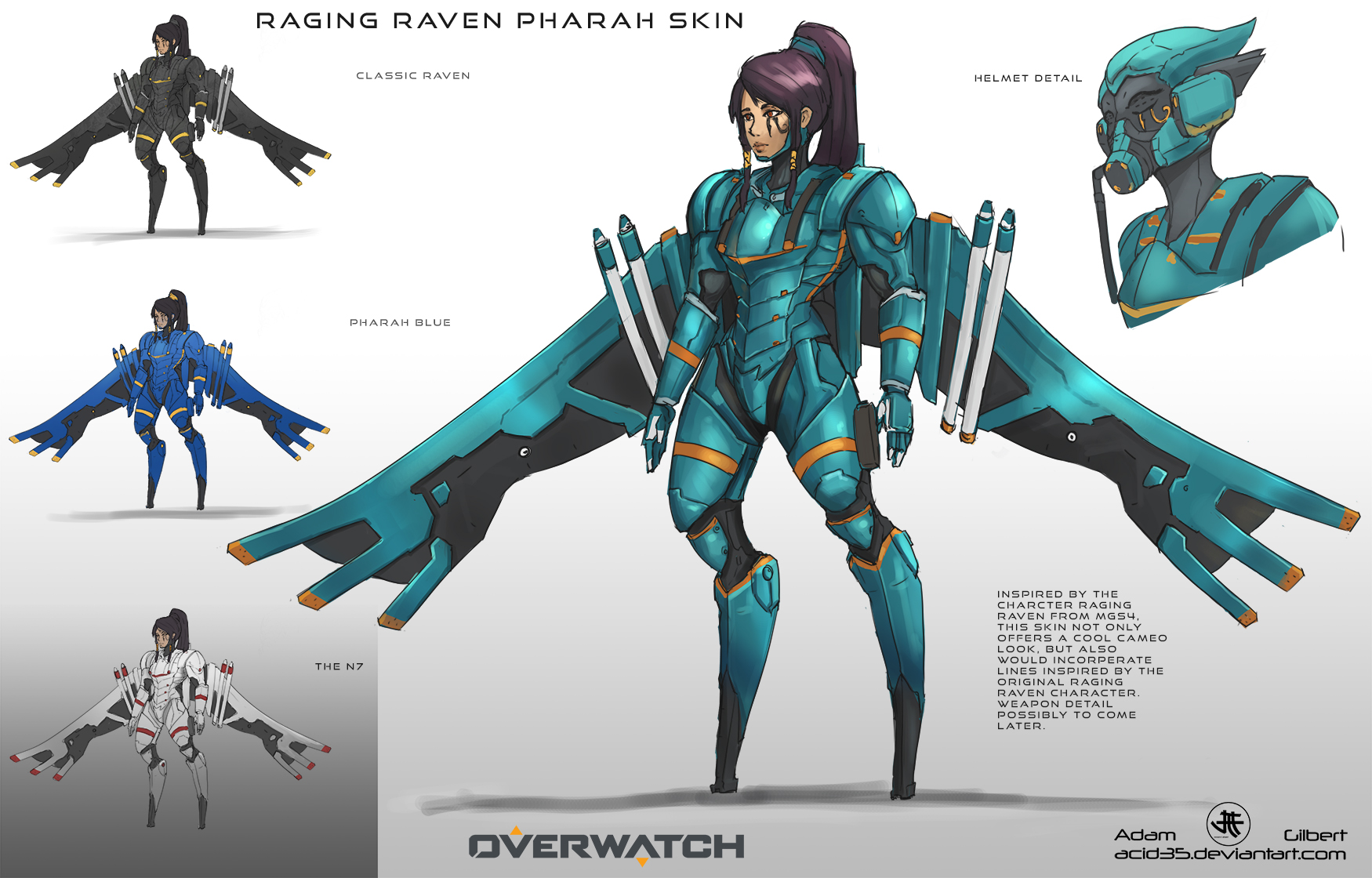 Overwatch the pharah special w audio 5