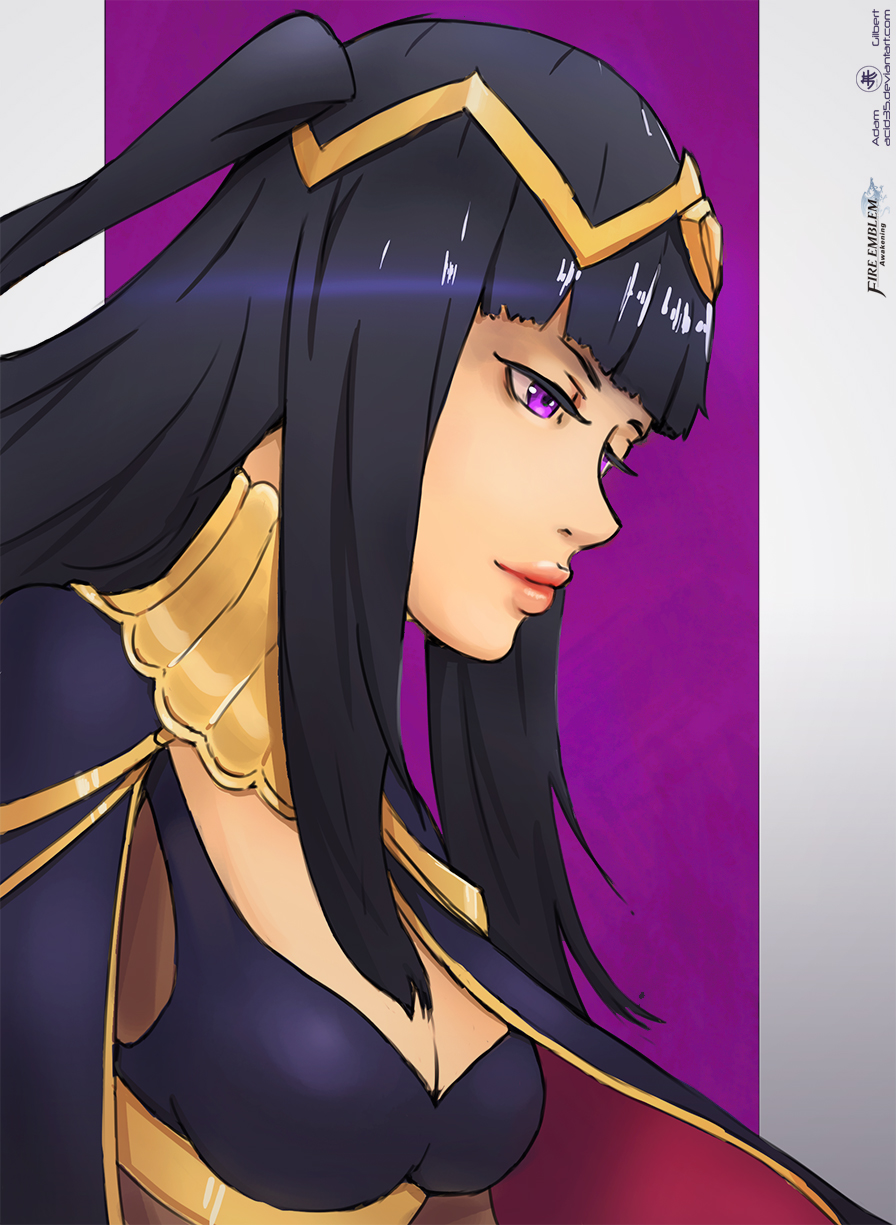 Tharja - Round Two by Adam-Gilbert