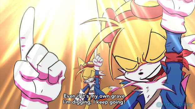 Gurren Lagann X Sonic TAILS SPEECH 2