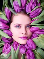 Girls like Flowers by armene