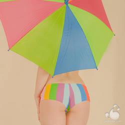 It's rainy day by armene