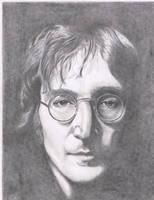 John Lennon by drawn2pencils