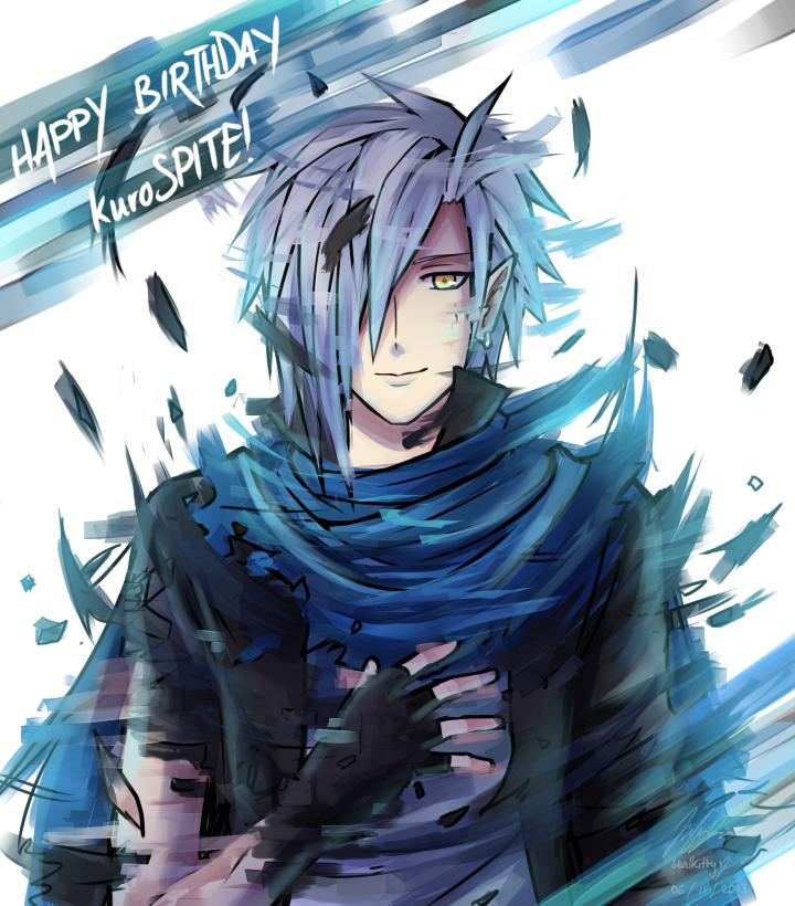 Happy Birthday kuroSPITE by Sealkittyy