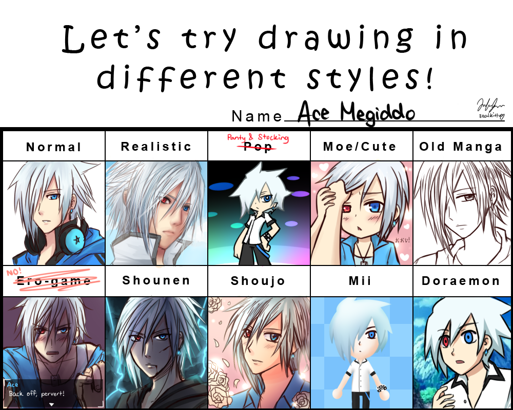 Ace Pixiv Style Meme by Sealkittyy