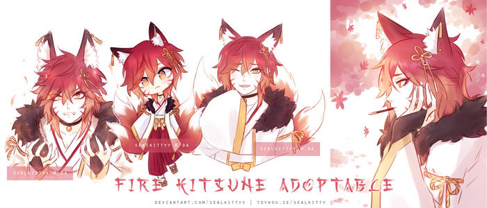 [CLOSED] Fire Kitsune