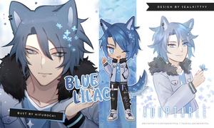 [CLOSED] Blue Lilac Adopt