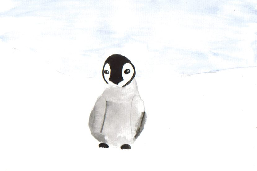 3rd December. Must be time for a penguin… | amanda's ... |Cute Baby Penguins Drawings