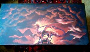 Coffee Table dragon WIP