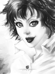Girl sketch by sianic