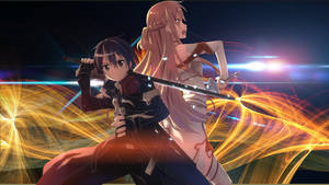 Sword Art Online Kirito and Asuna Wallpaper